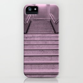Tube Stairs iPhone Case