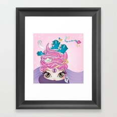 Toys in the attic Framed Art Print