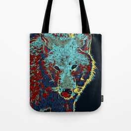 Hungry Wolf Tote Bag