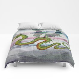 Dragon Kite Comforters