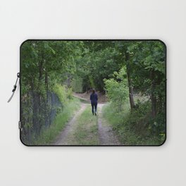 Sentiero nel bosco Laptop Sleeve