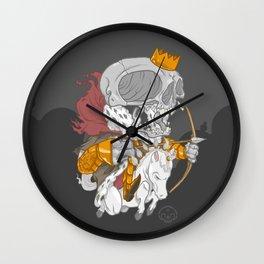 The Four Horsemen of the Apocalypse (White) Wall Clock