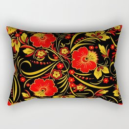 Russian khokhloma Rectangular Pillow