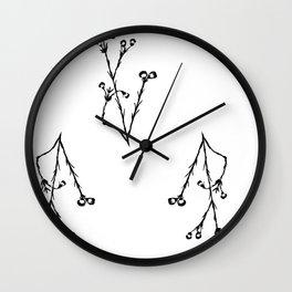LinoBuds Wall Clock