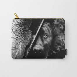 The dog (B&W) Carry-All Pouch