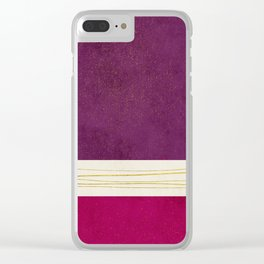 Phi Alpha 5 Clear iPhone Case