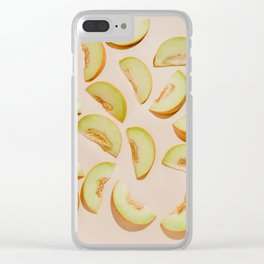 Melon slices Clear iPhone Case