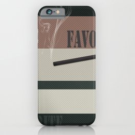 A gift for a man . Favorite male .2 iPhone Case