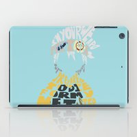 soul eater iPad Cases featuring soul eater evans by Rebecca McGoran