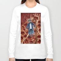 sandra dieckmann Long Sleeve T-shirts featuring Sandra by Robert Elrod
