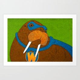 Walrus Art Print