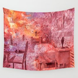 Al Capone's Vibrant Acrylic Cell Wall Tapestry