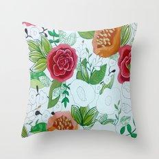 WIP Throw Pillow