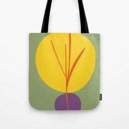 zen garden sun with purple stone Tote Bag