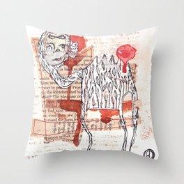 The Pleasant Wretches Throw Pillow