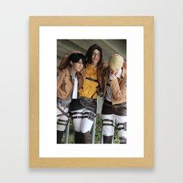 20151024 EruRiHan, Together Framed Art Print