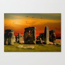 Stonehenge Fantasy Canvas Print