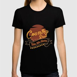 Country Road Take Me Home | Best Songs Hits product Tee Gift T-shirt