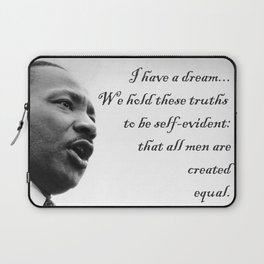 All are Created Equal Laptop Sleeve