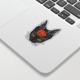 Hell Cat Sticker