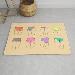 Butts Women Underwear Panty Rug