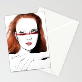 Love Girls - Blood redhead Stationery Cards