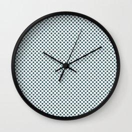 Hydro Polka Dots Wall Clock