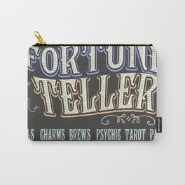Mystical Fortune Teller poster Carry-All Pouch