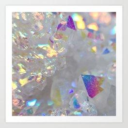 Aurora Borealis Crystals Art Print