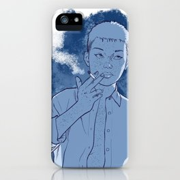 Chilling 2 iPhone Case