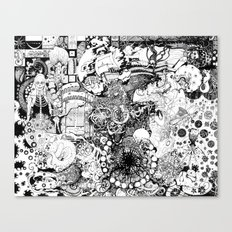 Death of A Pirate Canvas Print