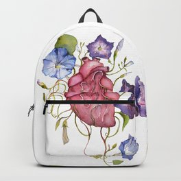 You are growing on me Ipomoea / blooming heart Backpack