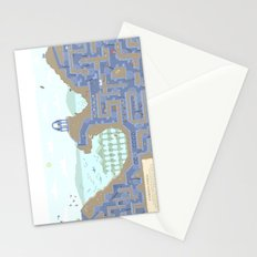 Undertunnels Maze Stationery Cards