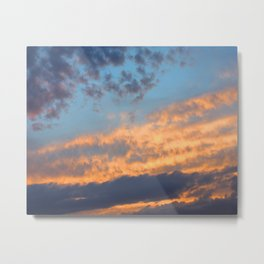 Berkshires Sunset III Metal Print