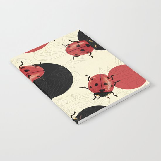 Ladybird Polka Notebook