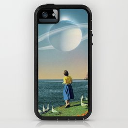 Watching Planets iPhone Case