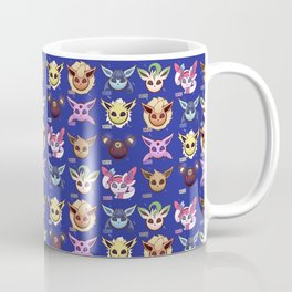 Eeveelutions Blue Coffee Mug