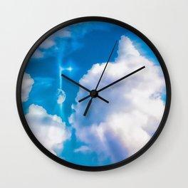 A Wonderful New Day Wall Clock
