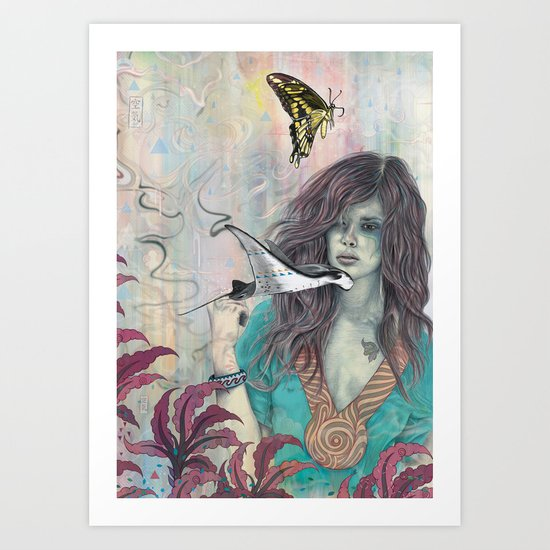 Solid Air Art Print