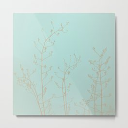 Choco Mint Jasmine Metal Print