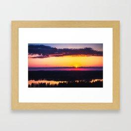 Fissio Framed Art Print