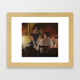 Penny For Your Thoughts Framed Art Print