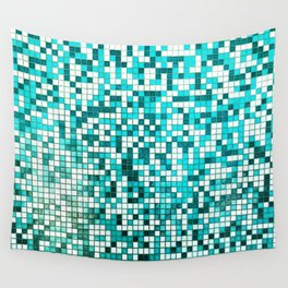 Pool Tiles Wall Tapestry