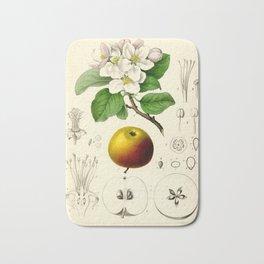 Antique Apple Study Bath Mat