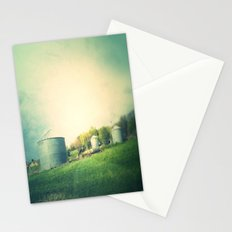 Farm land drive by Stationery Cards