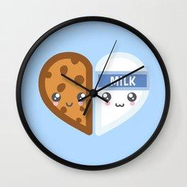 Milk & Cookie Wall Clock