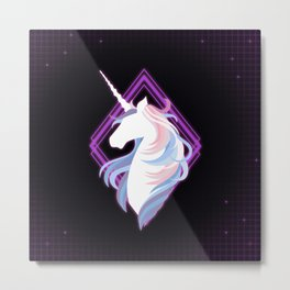 Beautiful Unicorn Metal Print