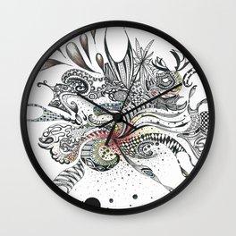Big Bang Aftermath Wall Clock