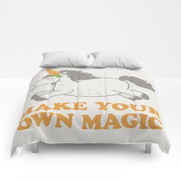 Make Your Own Magic - Pony Turned Unicorn Comforters