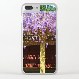 Blossom Covered Area Clear iPhone Case